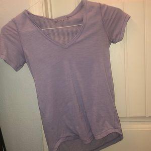 Purple lulu lemon shirt